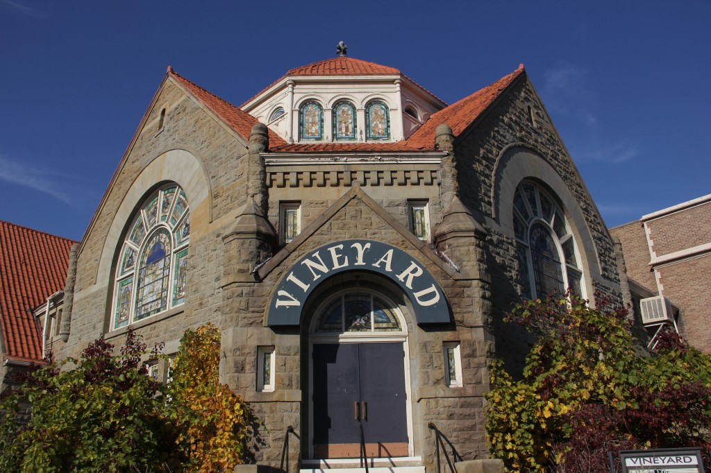 The Vineyard Church stands out as one of many of Yakima's beautiful and historic houses of worship.