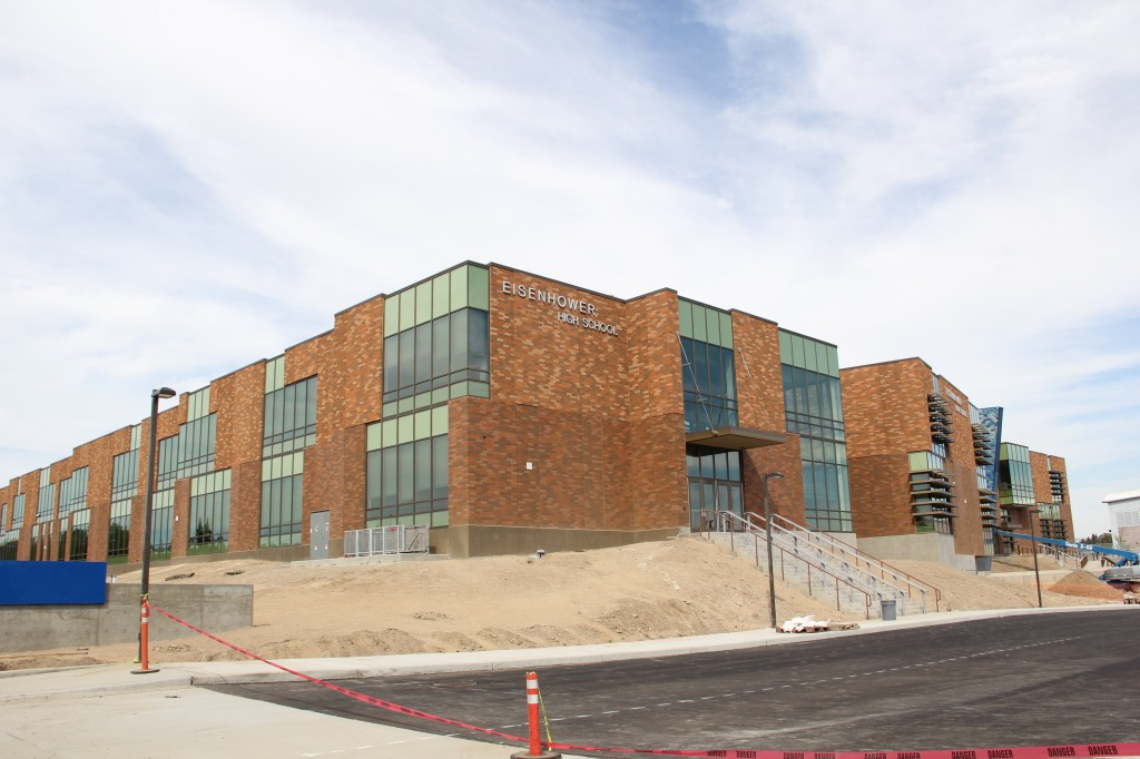 With Yakima Schools set to start classes next week, final touches are being put on the new Eisenhower High School.