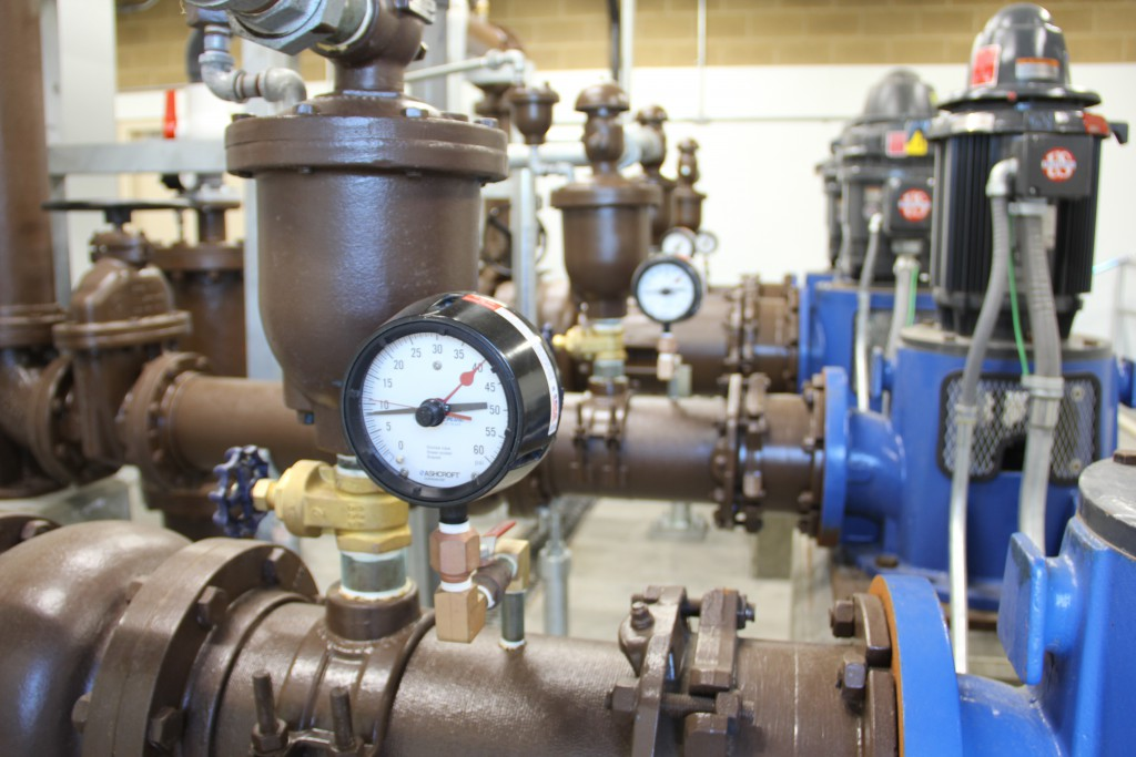 The newest pump house is up and running at Yakima's Naches River water treatment plant which has been recognized by the Washington State Department of Health with the silver certificate of achievement award. One of five given in the state this year.