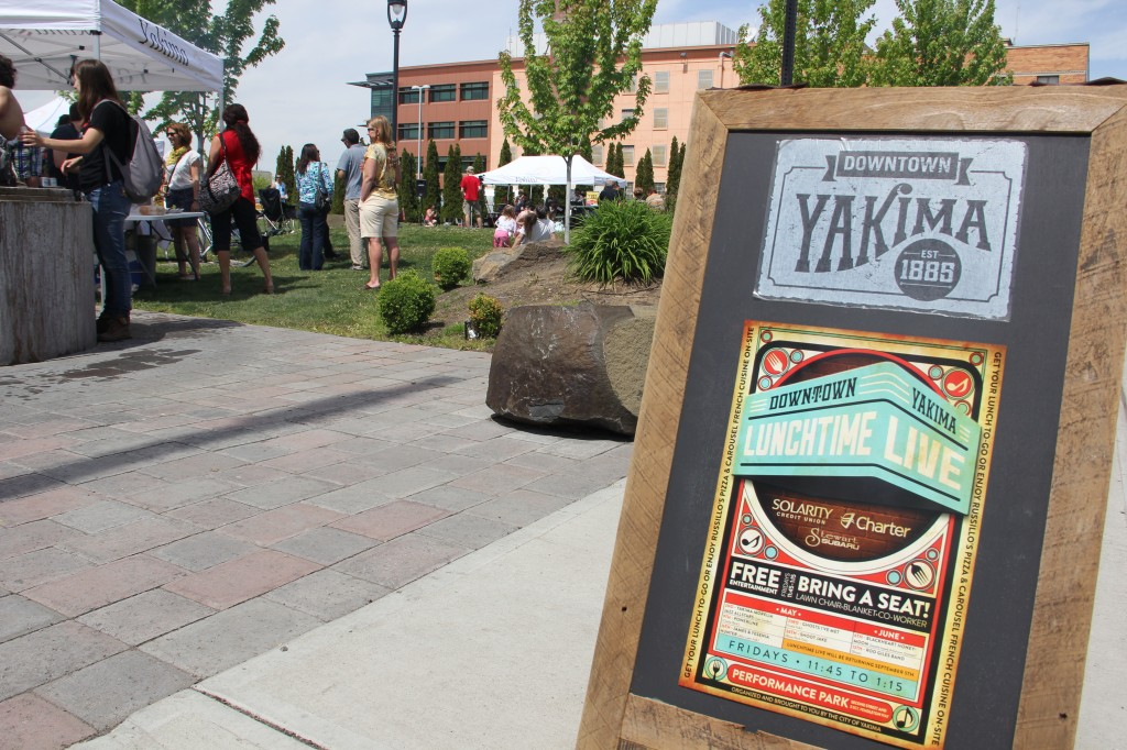 The Yakima Morelia All-Stars kicked off the summer concert season at Lunchtime Live in Downtown Yakima on May 2nd, 2014.