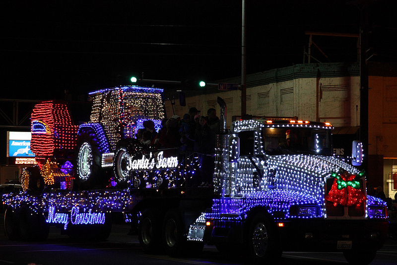 Yakima Holiday Light Parade