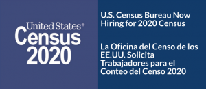 2020 Census Workers Needed