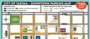 Map of the Month - Downtown Parking