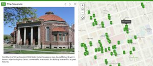 Map of the Month - Walking Tour of Historic Downtown Yakima