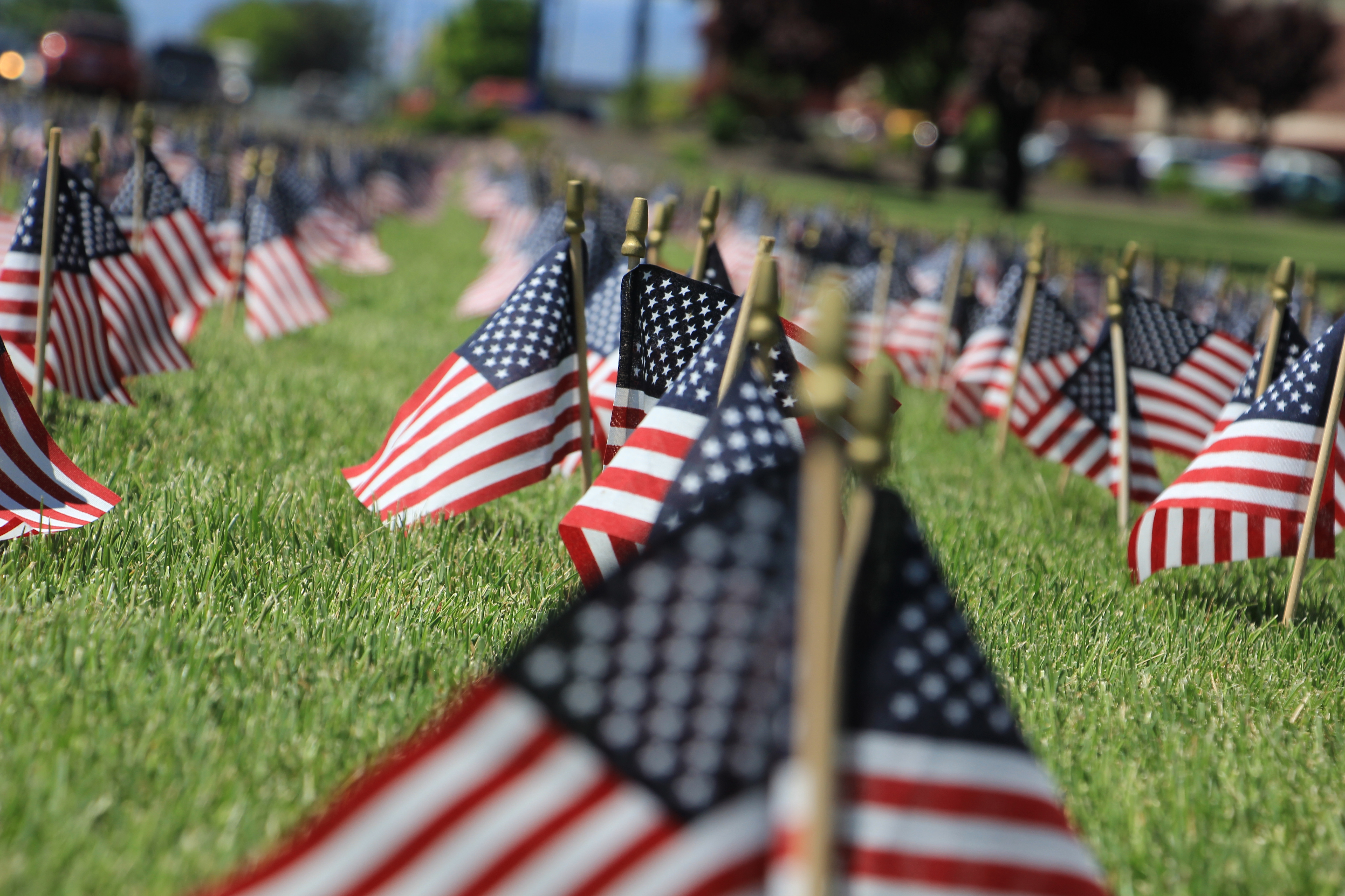 Perry Tech Memorial Day Flag Display – Snapshots