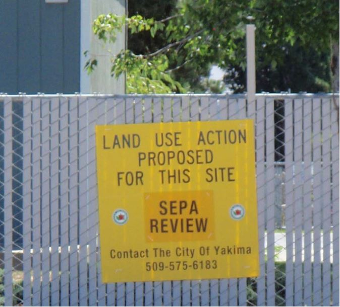 Land Use Action Sign